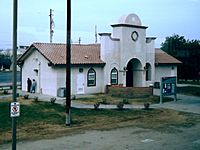 Wasco, California, train station