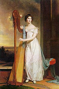 1818-Lady-with-Harp-Eliza-Ridgely-Sully