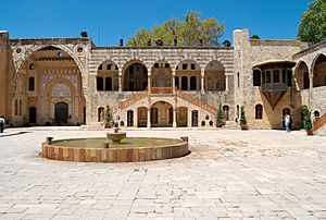 Courtyard at Beiteddine Palace - 2009