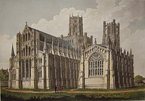 Ely Cathedral by John Buckler