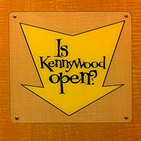 Is Kennywood Open sign