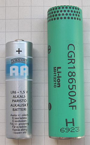 Liion-18650-AA-battery