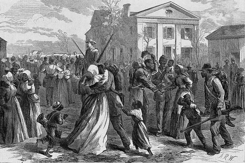 Mustered out, harper's weekly, little rock, AR