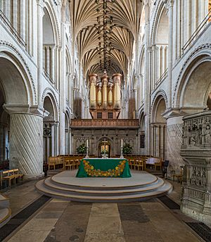 Norwich Cathedral Pulpitum, Norfolk, UK - Diliff