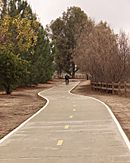 Woodley Ave bike path