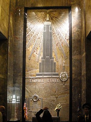 Empire State Building Lobby Mural