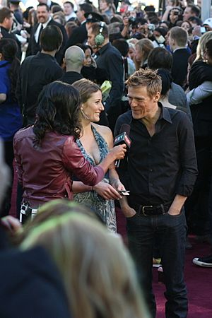 Flickr Bryan Adams and Kathleen Edwards at 2009 Juno Awards (01)