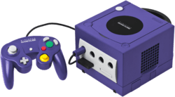 The GameCube console