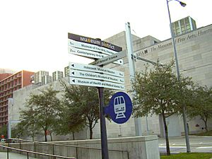HoustonMuseumDistrictSign