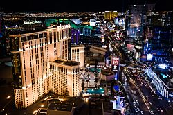 The Las Vegas Strip, largely located within Paradise