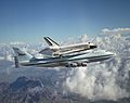 Space Shuttle Discovery Catches a Ride by Lori Losey NASA, August 19, 2005 (NASA)
