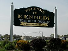 BELLMORE KENNEDY SIGN