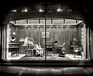 Display window, circa 1928 - Woodward & Lothrop