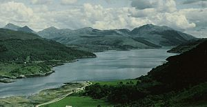 Dramatic Scenery at Loch Sunart - geograph.org.uk - 1659920