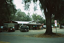 Lake Lindsey's local general store