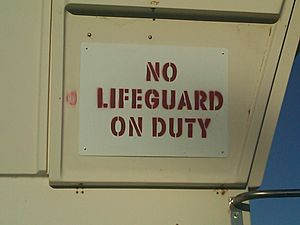 Lifeguard warnings