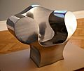 Ron Arad - The Big Easy chair in chrome steel