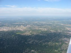 Aerial view of West Carrollton/ Miamisburg