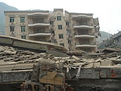 ADBC Branch in BeiChuan after earthquake