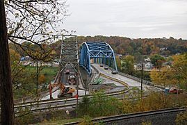 Albert Gallatin Memorial Bridge (1930 and 2009) - West End