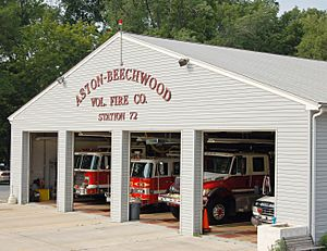 Aston-Beechwood Vol Fire Co Station 72