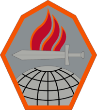 Official Shoulder Sleeve Insignia of the US Army Cyber Center of Excellence