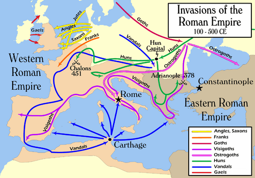 Invasions of the Roman Empire 1