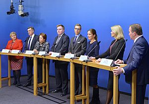 The Prime Ministers of the Nordic Council in October 2014 - 09