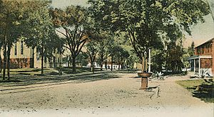 View of Main Street, Westborough, MA