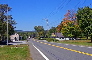 Looking into Walker Valley from the east along NY 52