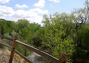 Pikes Peak Greenway Trail - North of Austin Bluffs - Monument Creek