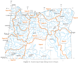USGS Oregon river basins