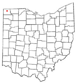 Location of Holiday City, Ohio