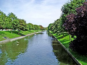 Royal Military Canal at Hythe
