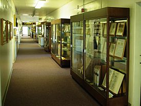 Prewitt-Allen Archaeological Museum displays.JPG