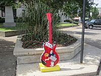 Rockabilly guitar replica in El Dorado, AR IMG 2595