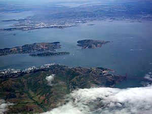 San Francisco Bay from the air in May 2010 06