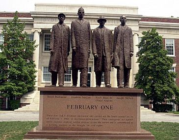 A&T four statue 2000
