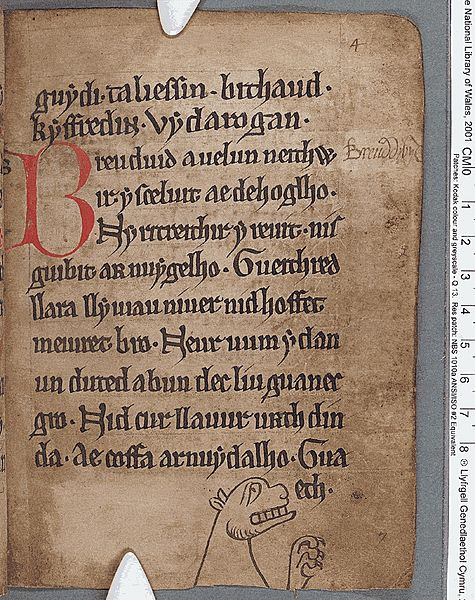 Black Book of Carmarthen (f.4.r)