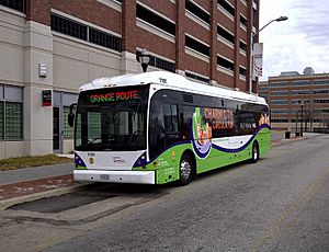Charm City Circulator Vanhool 1101