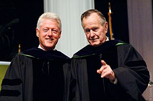 Clinton and Bush 2006 (3618970325)