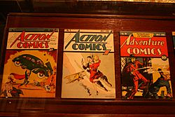 Geppis Museum First Edition Comic Books