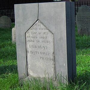 Gravestone of Richard More