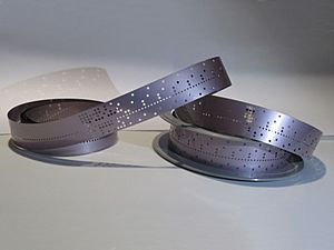 Mylar Punched tape