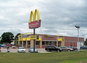 New McDonald's restaurant in Mount Pleasant, Iowa