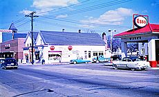 North Frederick Avenue and Brookes Avenue, Gaithersburg, Maryland, February 19, 1956