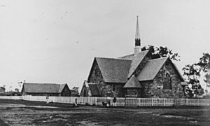 StateLibQld 1 104656 Second St. Mark's Church of England, Warwick, ca. 1872 crop