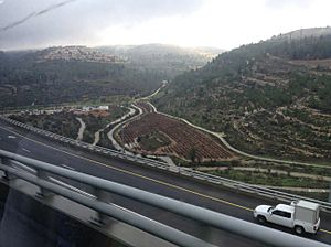 The route from Jerusalem to Ashdod 01