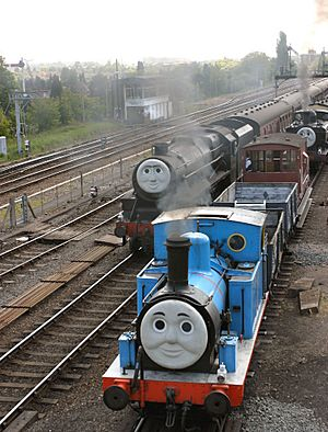 Thomas, Henry, Duck and troublesome trucks at Kidderminster