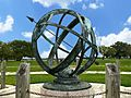 6' Armillary Sphere @ San Jacinto Battle Field, Texas